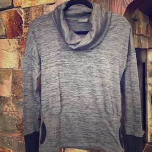 Athleta Cowl Neck Sweatshirt, XS